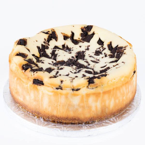 Baked Chocolate-chip Cheese cake