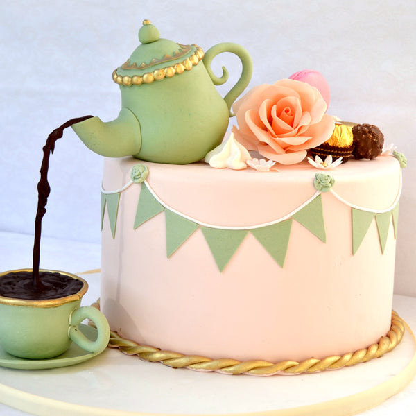 Tea Pot Cake TH 25 cm