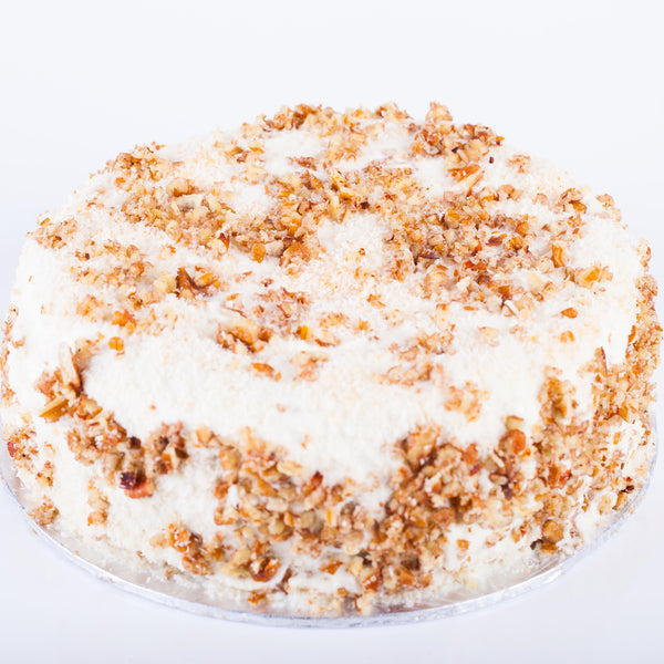 Pineapple-Carrot cake Cheese cake