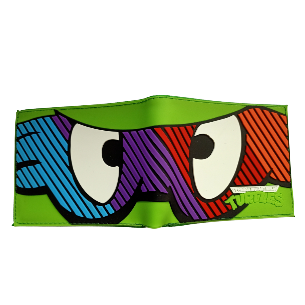 Wallet - TMNT - Masks - Teenage Mutant Ninja Turtles