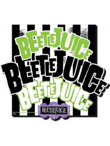 Tin Sign - Beetlejuice