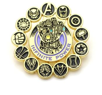Badge - Infinity Gauntlet