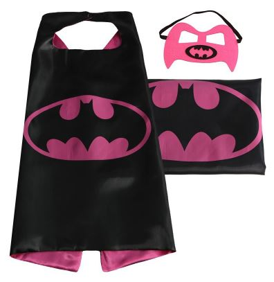 Cape & Mask Set - Small - Batgirl