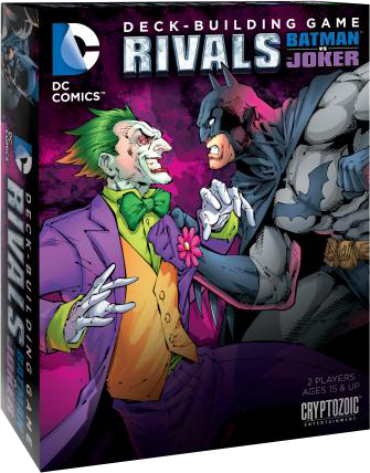 Game - DC Comics - Deck-Building Game Rivals Batman vs Joker