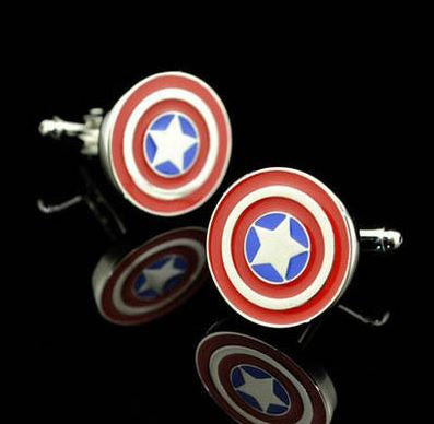 Cufflinks - Captain America