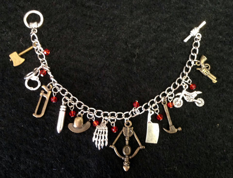 Charm Bracelet - The Walking Dead