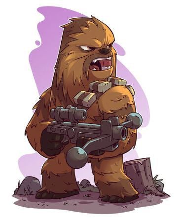 Diamond Art Kit - Chewbacca - 20 x 30cm Square Drill