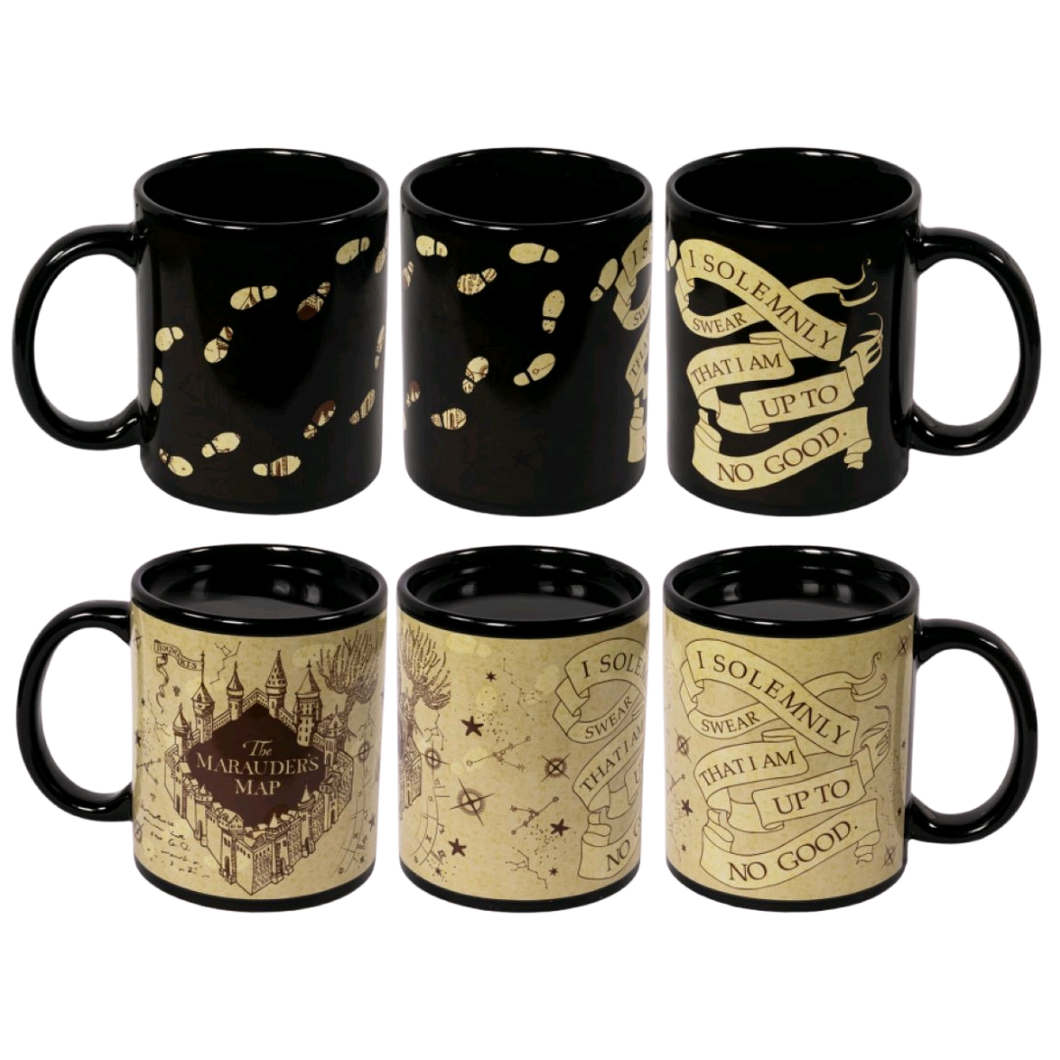 Mug - Harry Potter - Marauder's Map Heat Change Mug