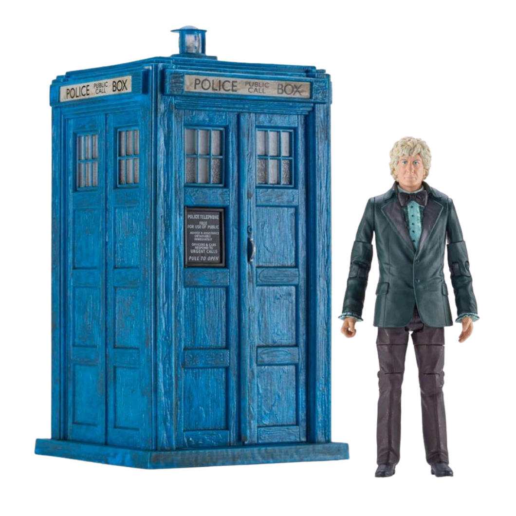 Doctor Who - Third Doctor & TARDIS 5