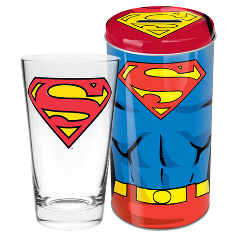 Glass in Tin - Superman