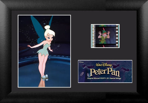 Film Cell - Disney - Peter Pan Tinkerbell MiniCell