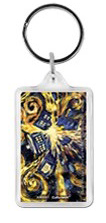 Keychain - Doctor Who - Exploding Tardis