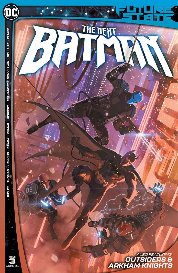 Comic - The Next Batman #3