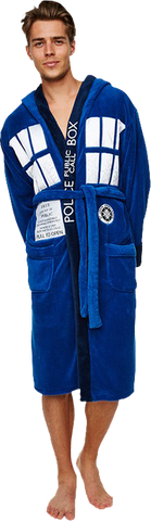 Bathrobe - Doctor Who - Tardis
