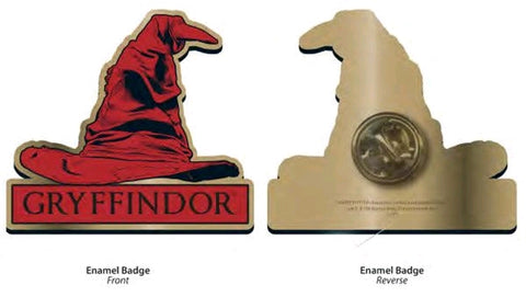Badge - Gryffindor Sorting Hat Badge - Harry Potter