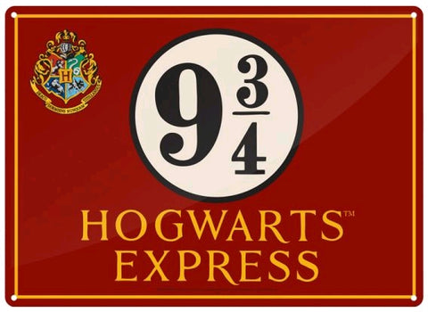 Tin Sign - Hogwarts Express - Small - Harry Potter