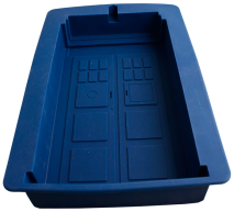Cake Mould - Dr Who Tardis - Silicone