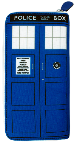 Wallet - Doctor Who - TARDIS Ladies Clutch Wallet