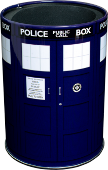 Can Cooler - Tardis (Metal) - Doctor Who Dr