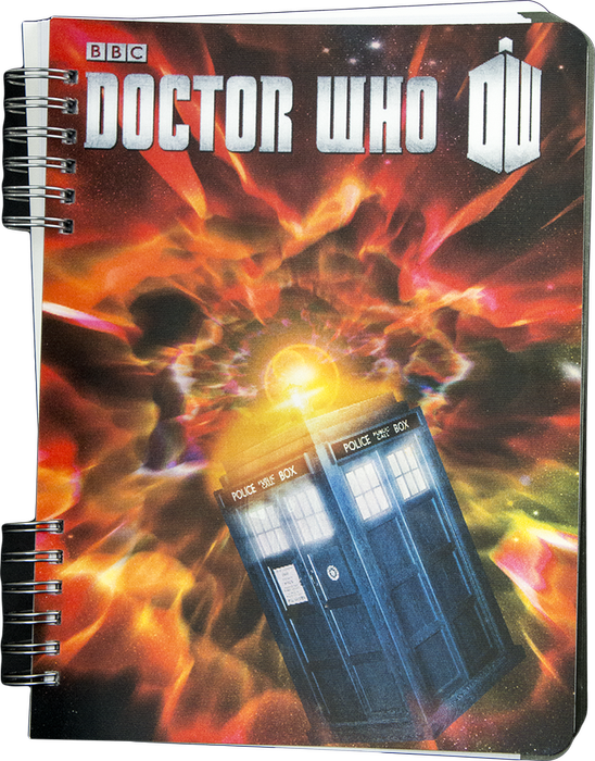 Doctor Who - TARDIS Lenticular Journal