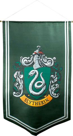 Banner - Slytherin Satin Banner - Harry Potter