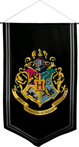 Banner - Hogwarts Satin Banner - Harry Potter