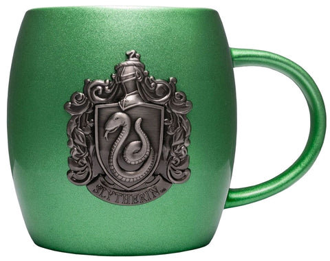 Mug - Harry Potter - Slytherin Metallic Crest Mug