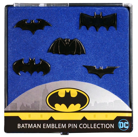 Badge - Batman - Batman Emblem Black Chrome Pin Collection