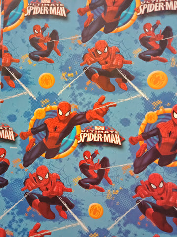 Wrapping Paper Folded - Spiderman Swinging