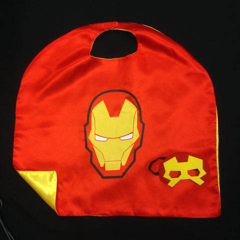 Cape & Mask Set - Ironman