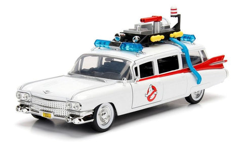 Car - Hollywood Rides - Ghostbusters - 1:24 Ghostbusters Ecto 1