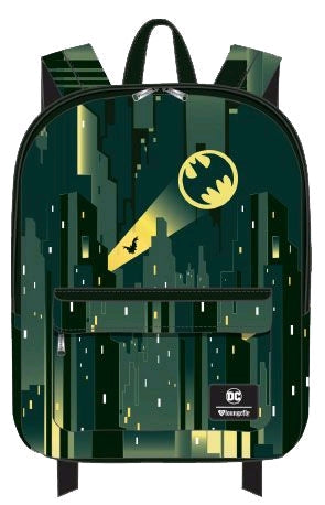Loungefly - DC - Batman - Gotham with Bat Signal Backpack
