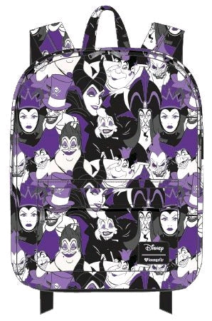 Loungefly - Disney - Villains Print Backpack