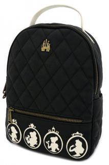 Loungefly - Disney - Princesses Quilted Mini Backpack