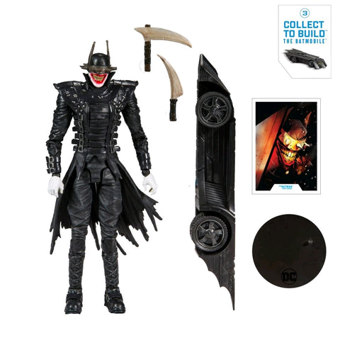 "Action Figure - Batman - Batman Who Laughs 7"" Build-A-Figure"