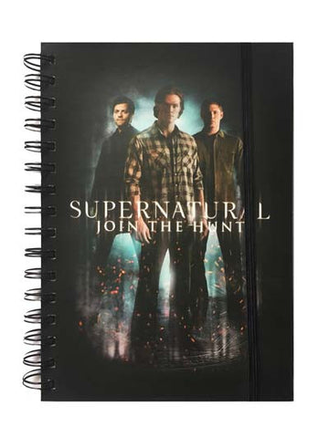 Notebook - A5 - Supernatural Join the Hunt
