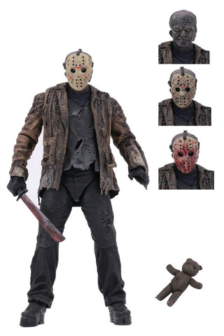 "Action Figure - Freddy vs Jason - 7"" Ultimate Jason Voorhees"