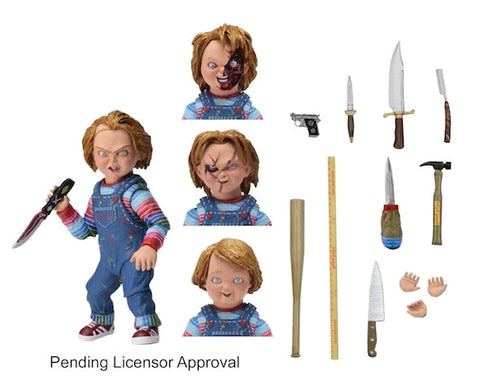 "Action Figure - Chucky 7"" Scale Ultimate Figure - Child's Play"