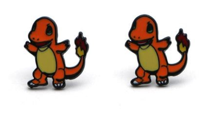 Earrings - Pokemon - Charmander