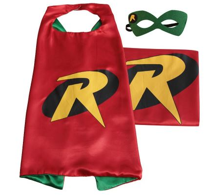 Cape & Mask Set - Small - Robin