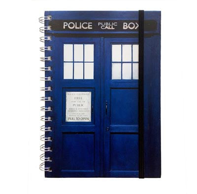 Notebook - A5 - Doctor Who - Dr Who Tardis