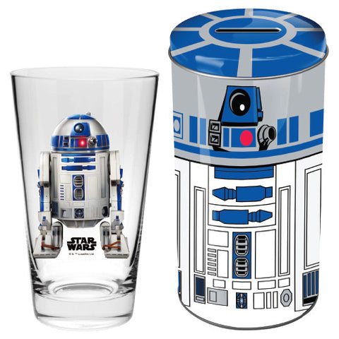 glass in tin r2d2 star wars heroes and more