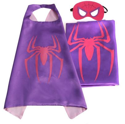 Cape & Mask Set - Small - Spidergirl