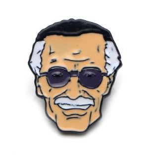 Badge - Marvel - Stan Lee