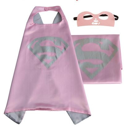 Cape & Mask Set - Small - Supergirl