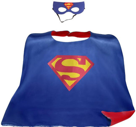 Cape & Mask Set - Large - Superman