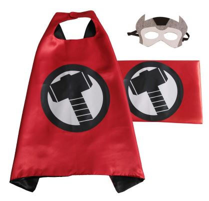 Cape & Mask Set - Small - Thor