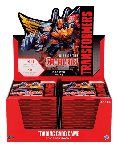 Collector Cards - Transformers - TRANSFORMERS TCG - Rise of the Combiners Booster Pack