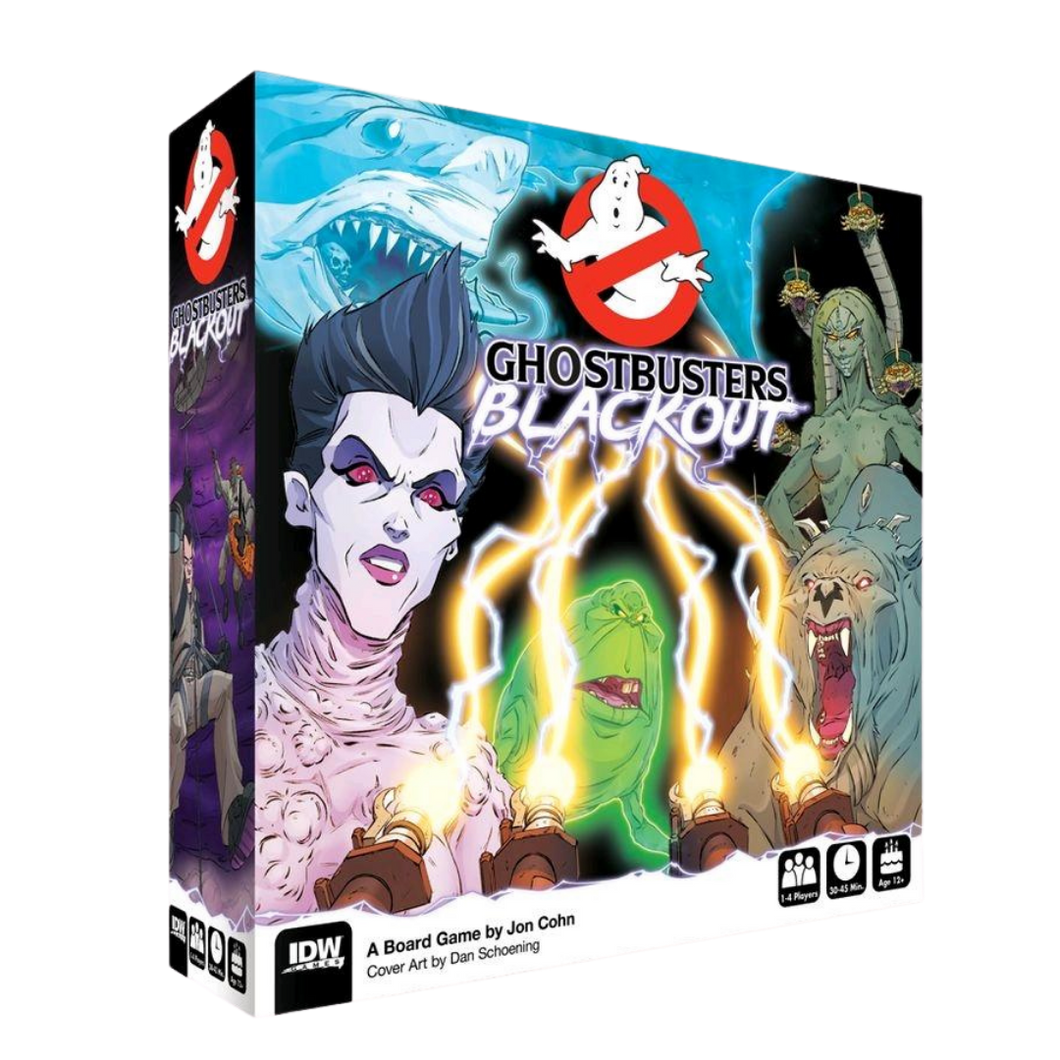 Game - Ghostbusters - Blackout Board Game