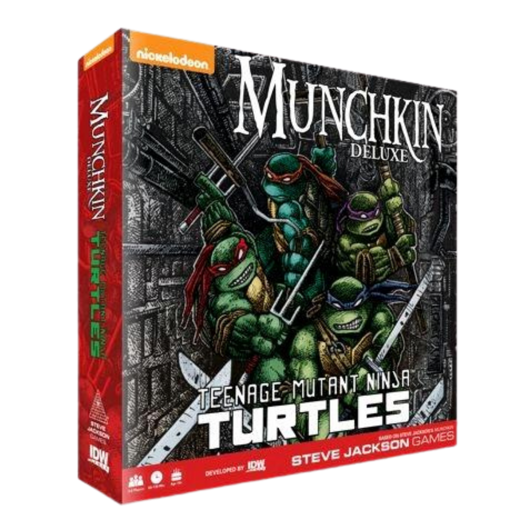 Game - Munchkin - Teenage Mutant Ninja Turtles Deluxe